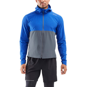 2XU Xvent DWR Chaqueta Hombre, chilled cobalt/turbulence